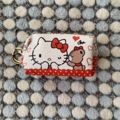 Hello Kitty KC Pouch Red