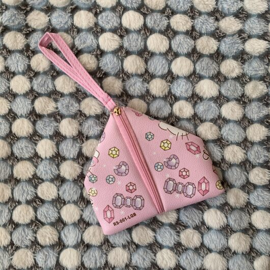 Hello Kitty Coin Pouch Back