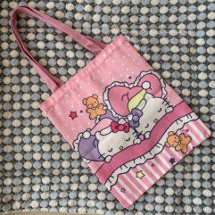 Hello Kitty Fabric Tote Sleeping