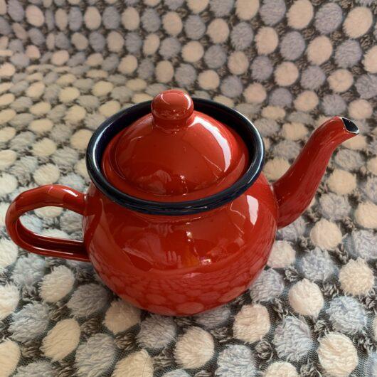 Meow Teapot Back